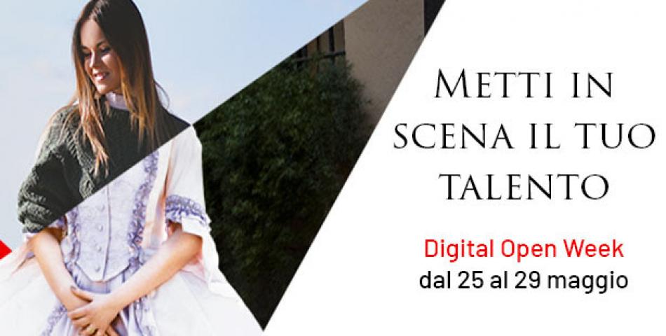 25-29 maggio: Digital Open Week Accademia
