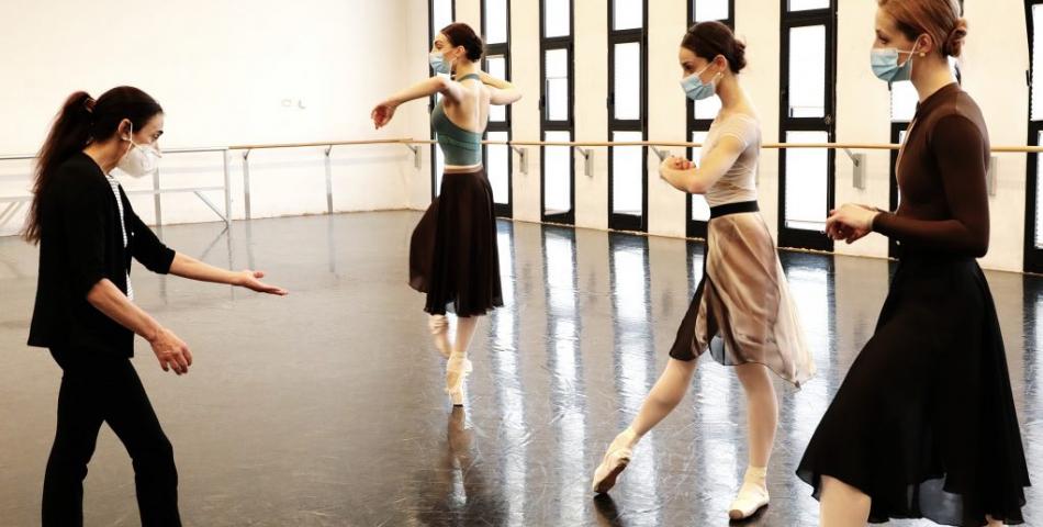 ALESSANDRA FERRI - Masterclass su L'Histoire de Manon