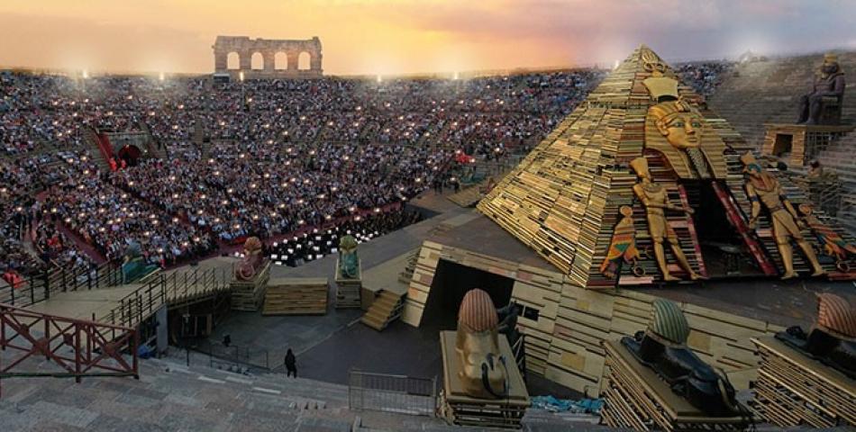 Arena di Verona - Serata inaugurale